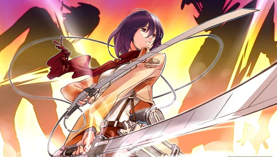 Characters Mikasa Ackerman Desktop Background Mikasa Hd 474453 Hd Wallpaper Backgrounds Download
