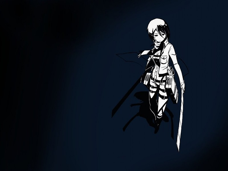 Mikasa Ackerman Attack On Titan Wallpaper For Desktop