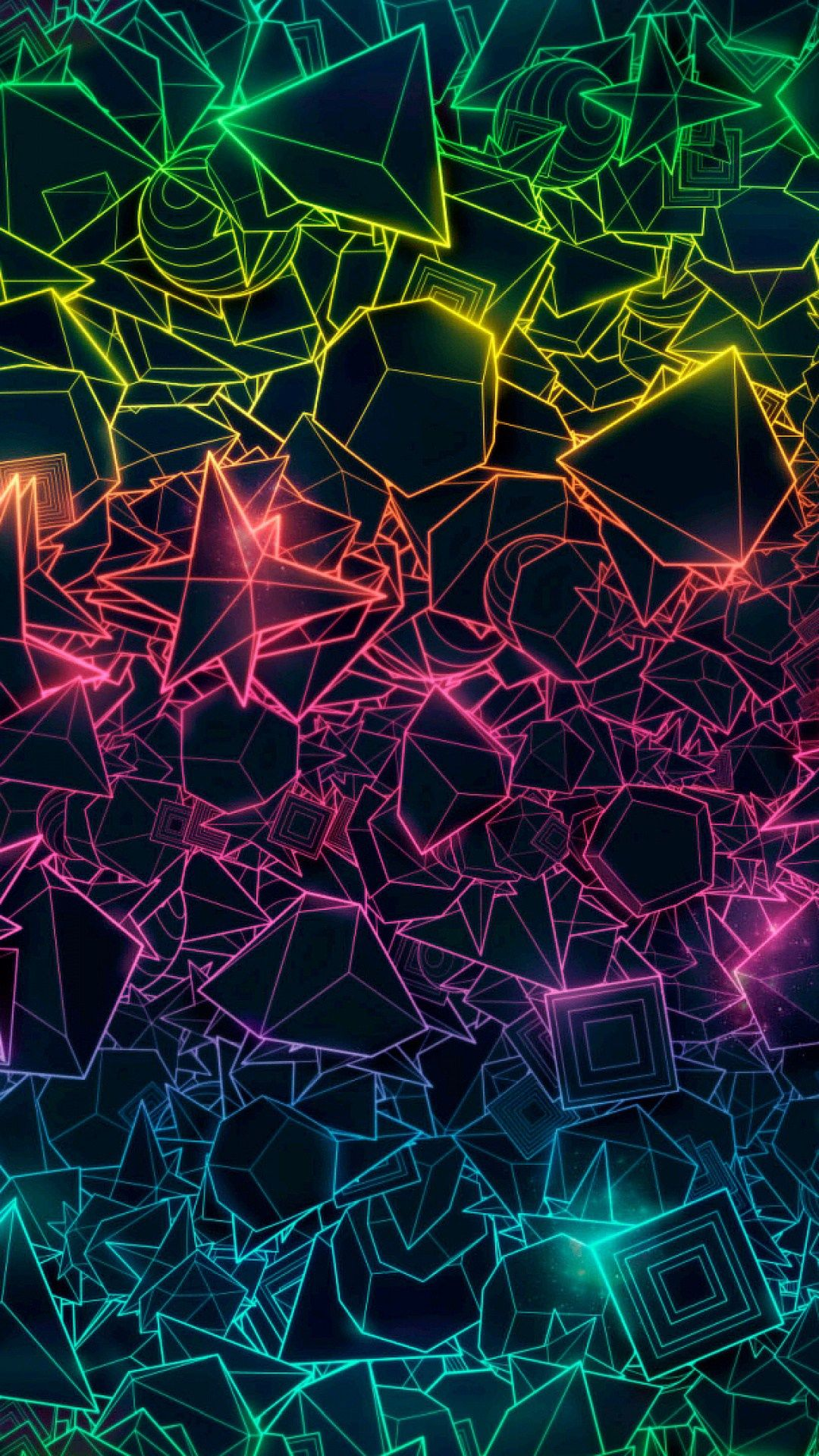 colorful geometric trippy Iphone Wallpaper , Trippy Phone