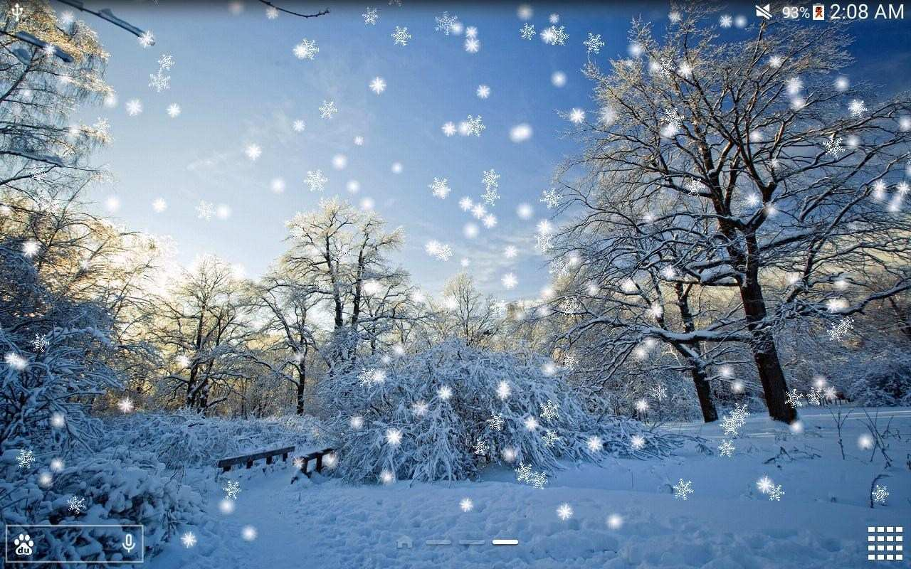 Winter Snow Live Wallpaper Pro Android Apps On Google - Winter Wallpapers Android , HD Wallpaper & Backgrounds