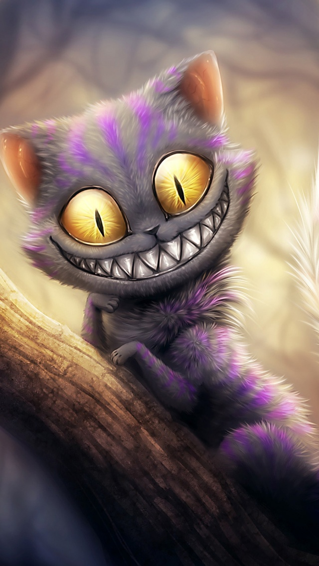 Cheshire Cat Wallpaper Phone 478094 Hd Wallpaper