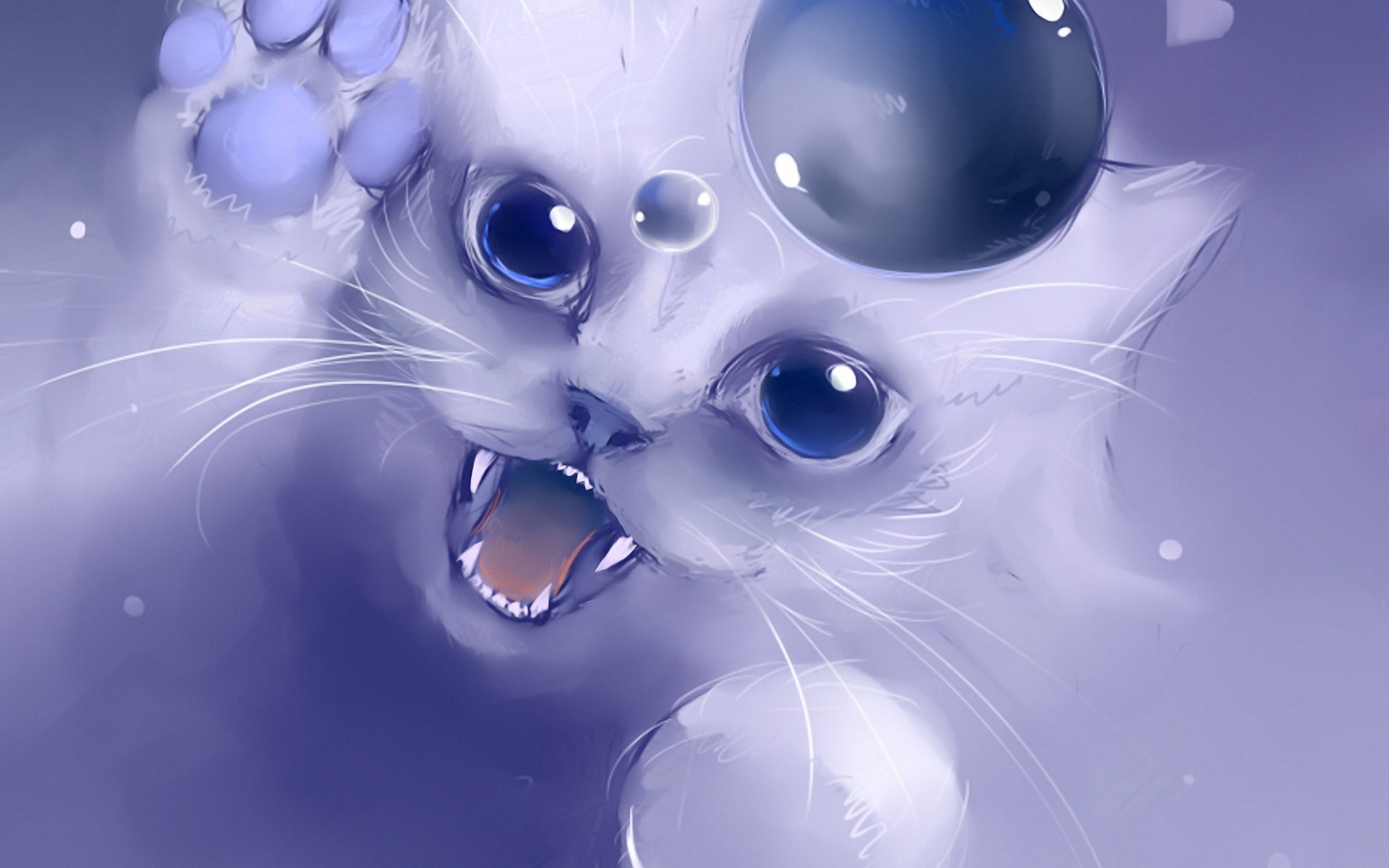 Hd Cartoon Cat Pictures Hd Desktop Wallpapers Background Cat And Bubble Drawing 478857 Hd Wallpaper Backgrounds Download