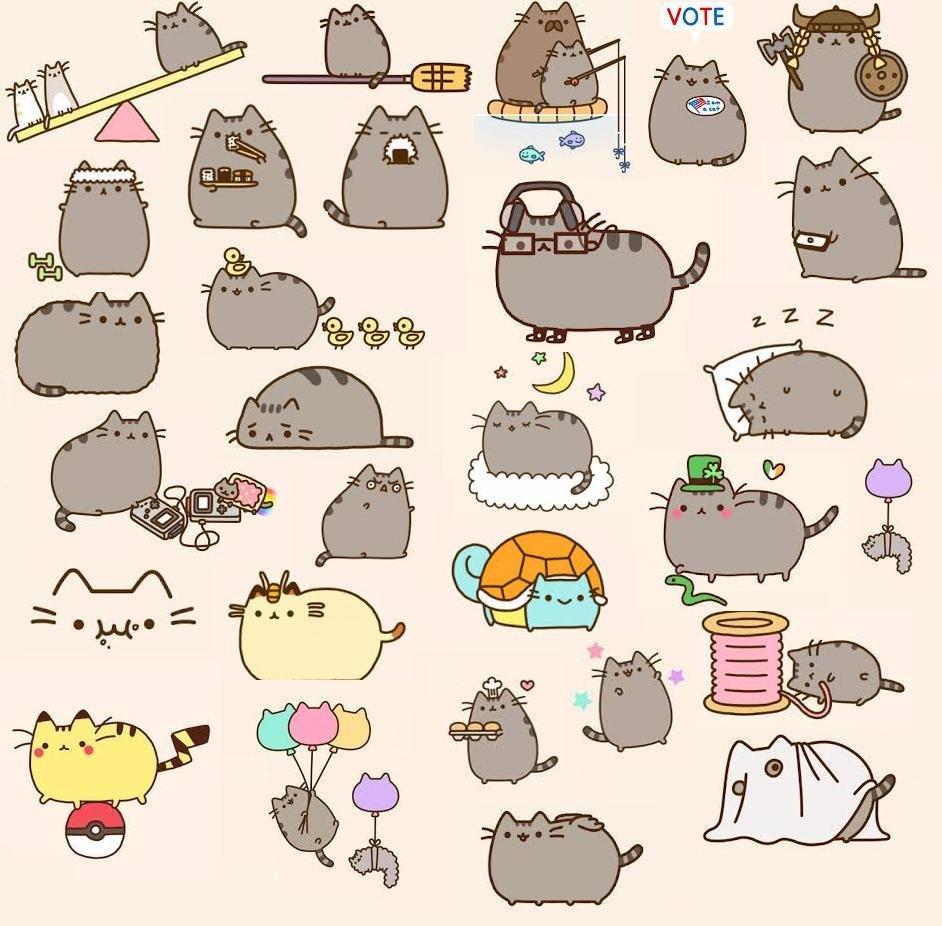 Pusheen The Cat Wallpapers Pusheen 478938 Hd