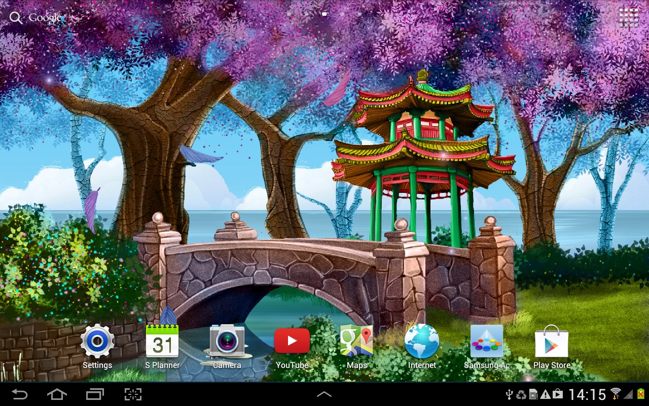 All Live Wallpaper Magic Garden Free Download Of Android
