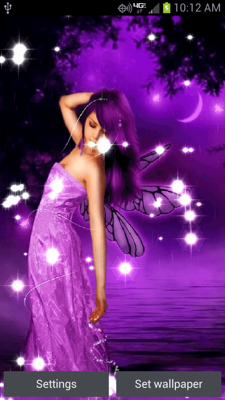 Fairy Live Wallpaper Download - Butterfly Fairy , HD Wallpaper & Backgrounds