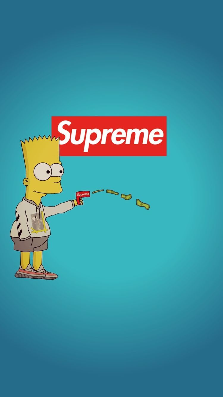 Supreme Wallpaper Bart Simpsons Supreme Wallpaper Bart Simpson 485621 Hd Wallpaper Backgrounds Download