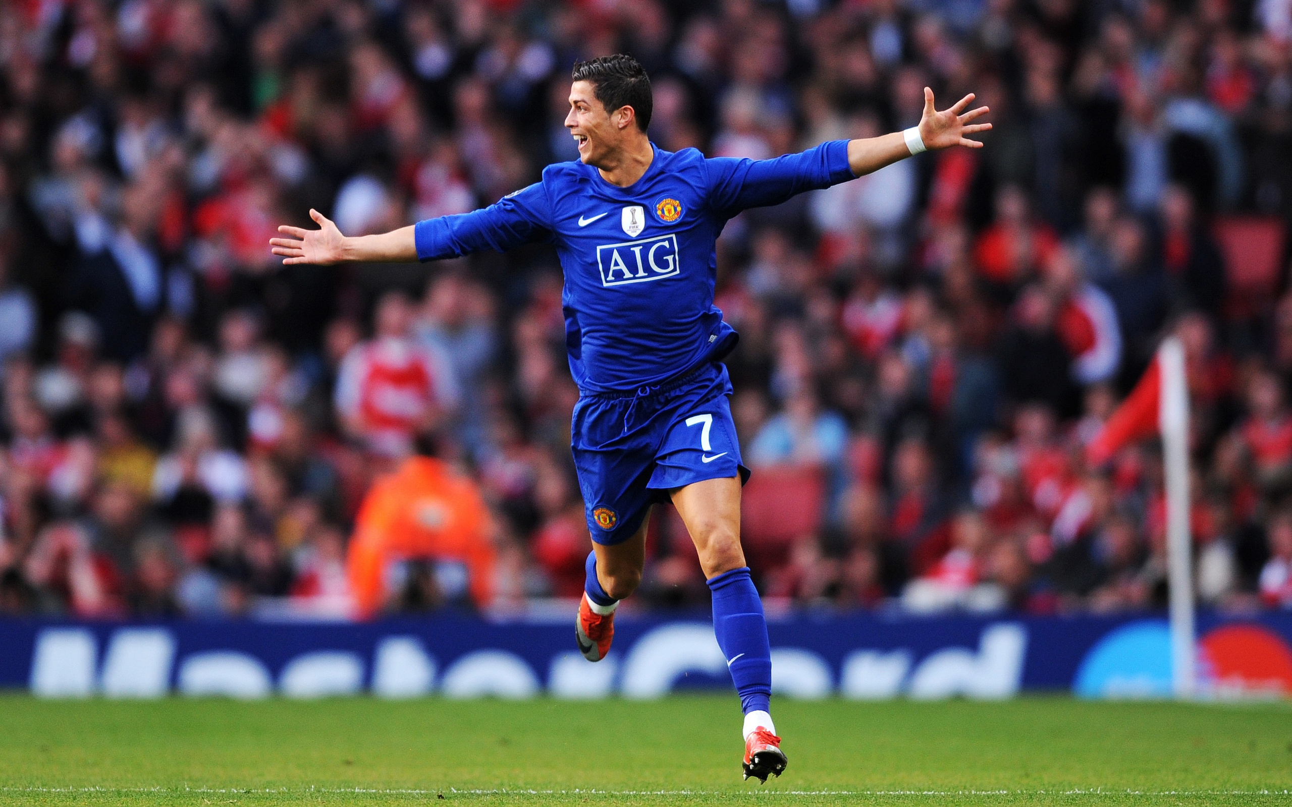 Sports Aig Stadium Manchester United Cristiano Ronaldo Cristiano Ronaldo Manchester United 2009 487640 Hd Wallpaper Backgrounds Download
