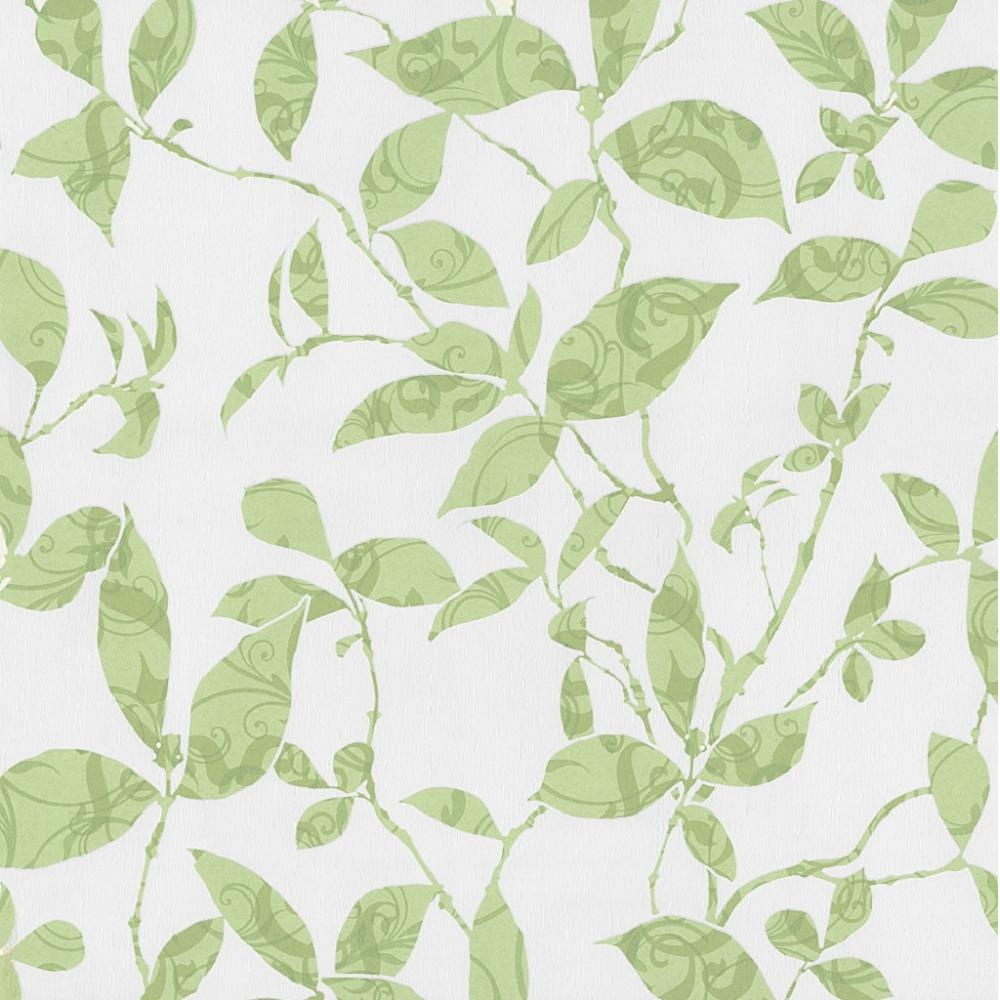 P S Tresor Patterned Leaf Trail Embossed Textured Wallpaper