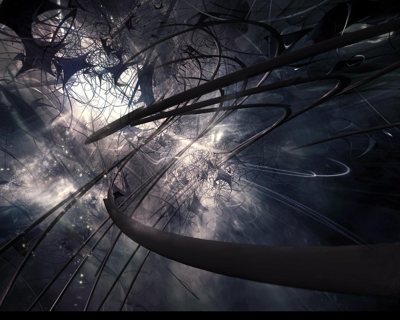 Dark 3d Abstract Wallpaper - Abstract Dark , HD Wallpaper & Backgrounds