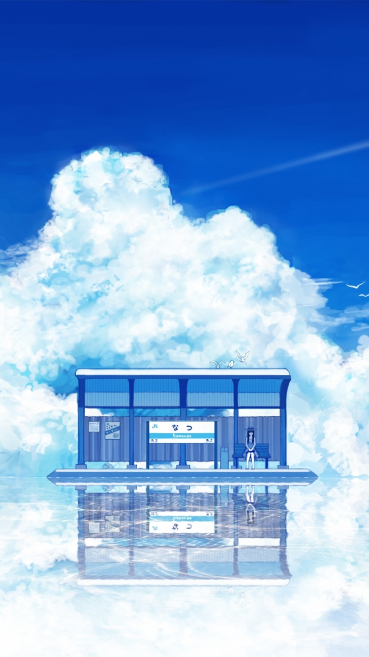 Anime Scenic Mobile Wallpaper Anime Background Wallpaper