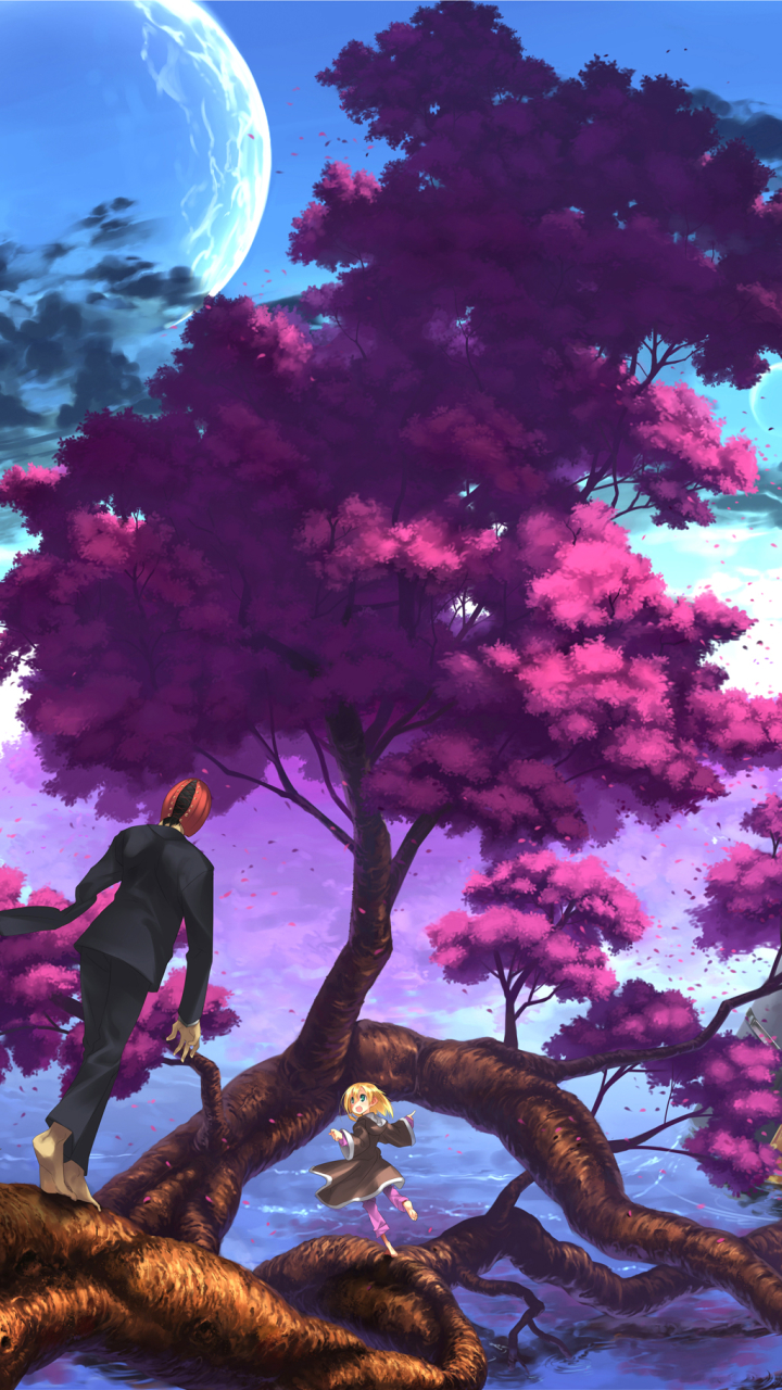 Anime Scenic Mobile Wallpaper Anime Scenery Facebook Cover