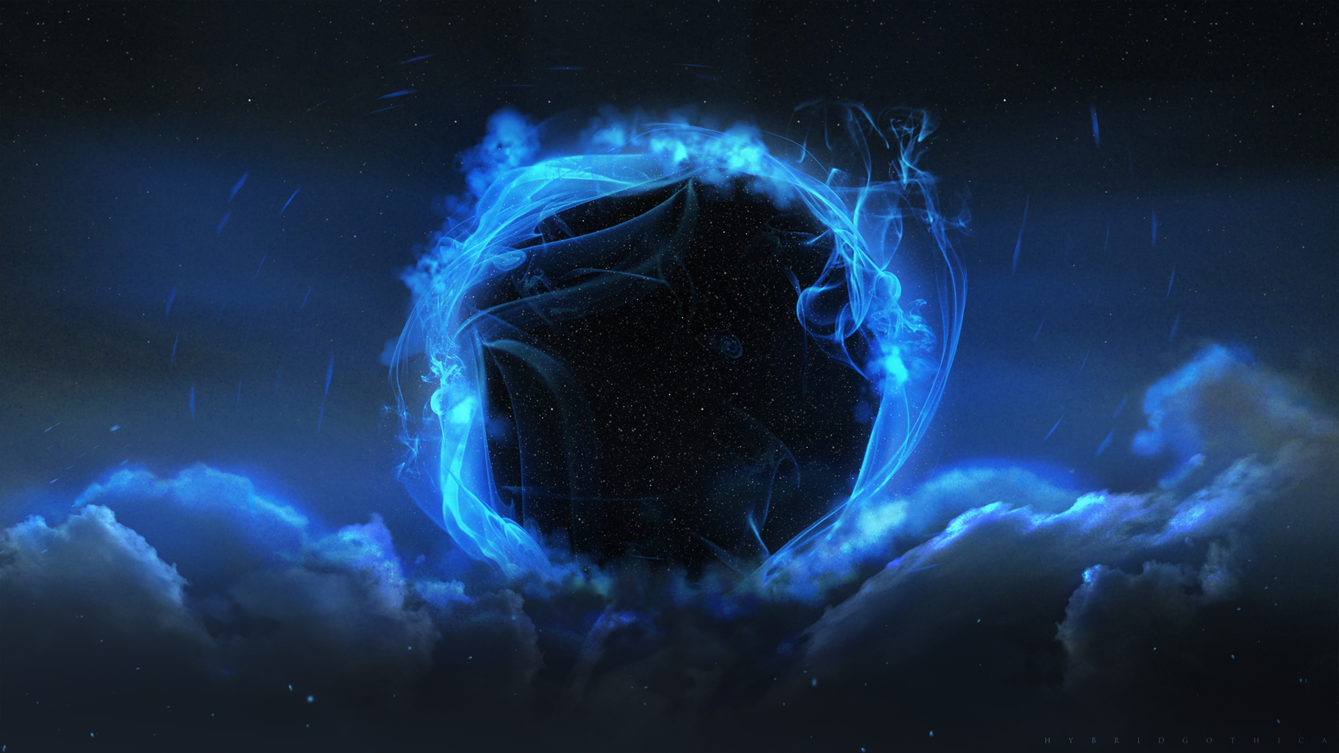 Tesseract - Spaceartist - Space - Black Hole Sci Fi , HD Wallpaper & Backgrounds