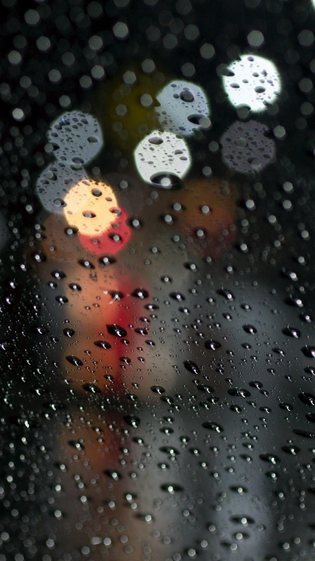Raindrop Iphone 6 Wallpaper Resolution Rain Drops