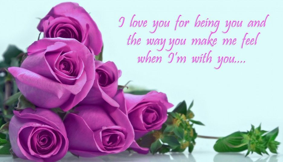 Friendship Quotes Purple Rose Flowers With Popular - Love Rose Flower Quotes , HD Wallpaper & Backgrounds