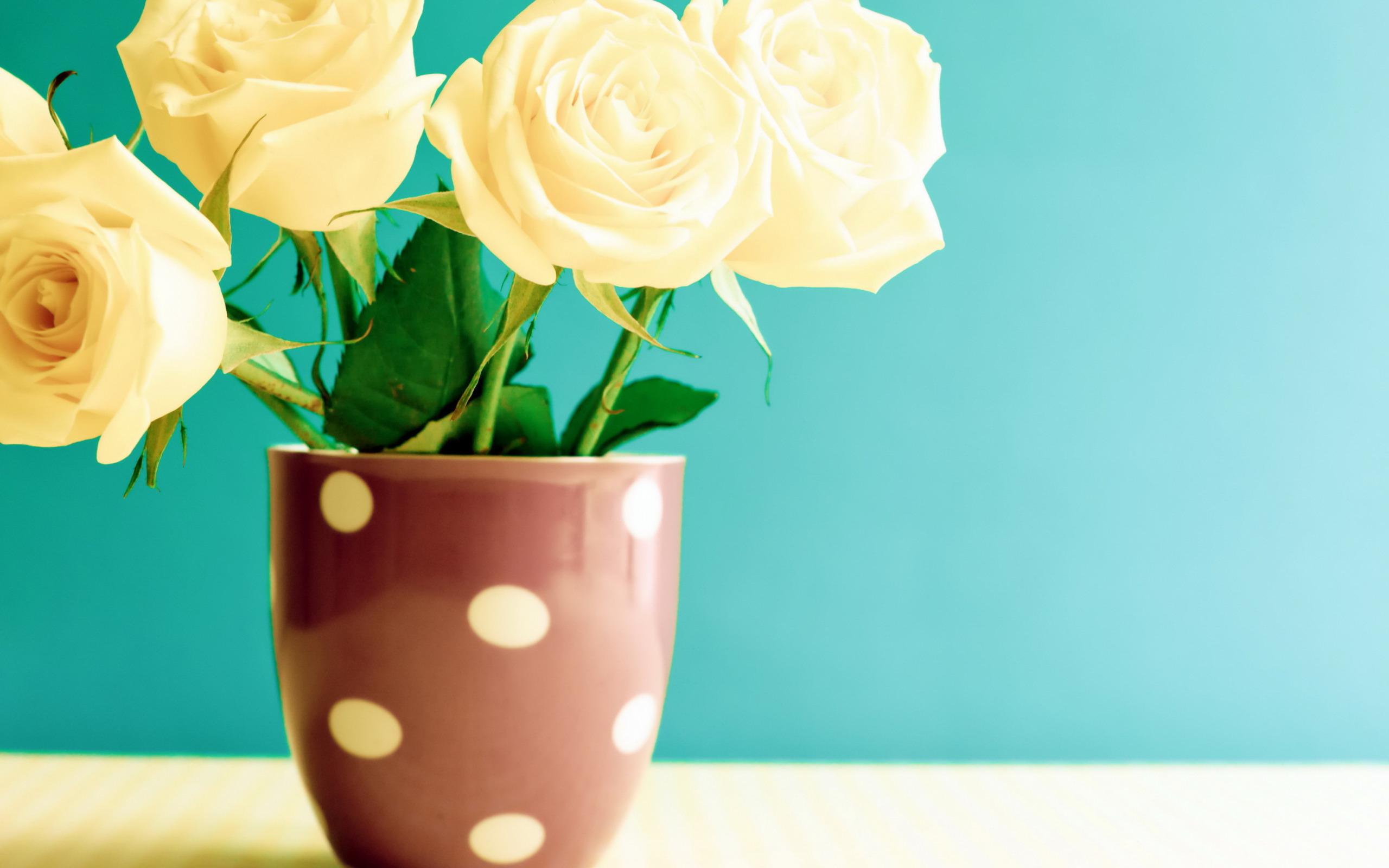 Yellow Roses, Vase, Beautiful Yellow Bouquet, Green - Цветы Стол , HD Wallpaper & Backgrounds