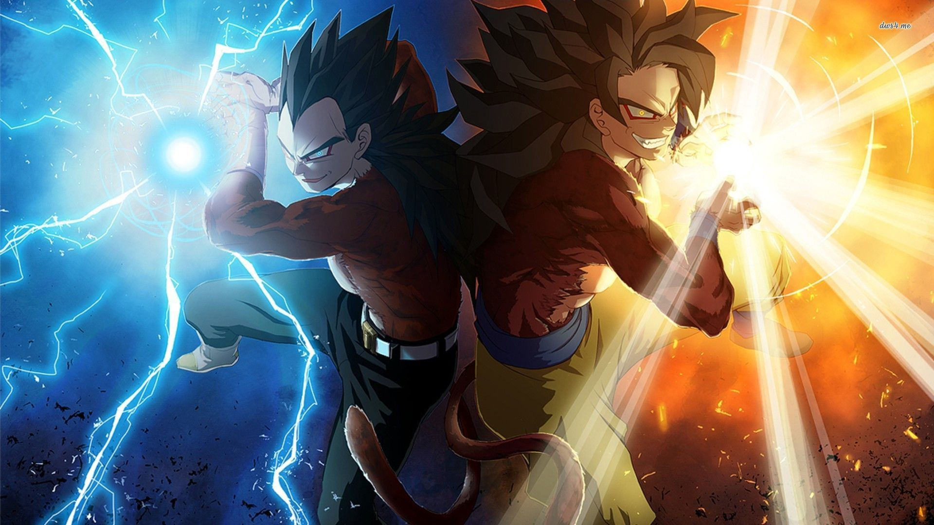 Dragon Ball Z 3d Wallpapers Group Goku Ssj4 Wallpaper Pc 50003