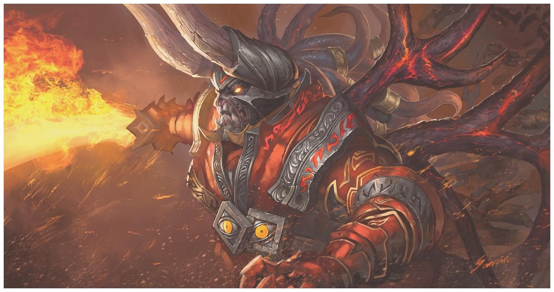 Doom Dota 2 Wallpaper Hd - Doom Dota 2 Art , HD Wallpaper & Backgrounds