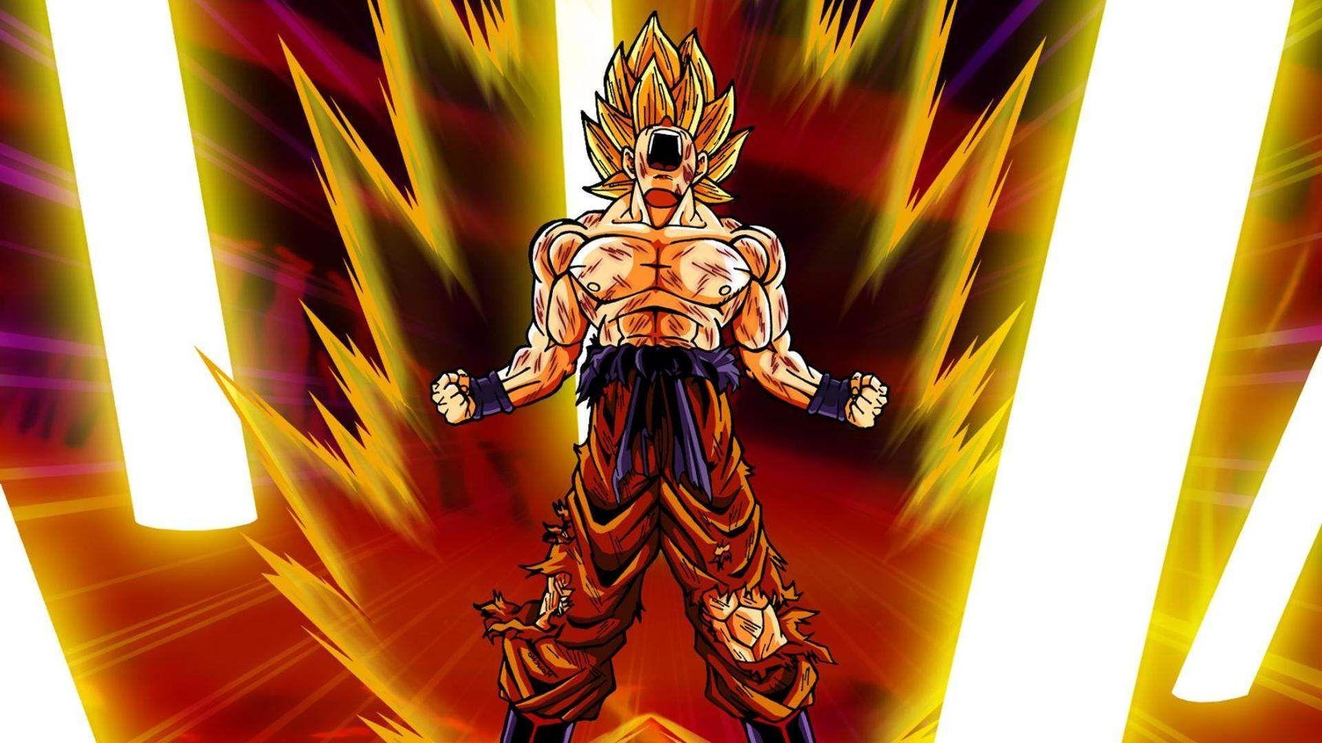 Goku Super Saiyan Dragon Ball Z Wallpapers Download Dragon Ball Z Wallpaper Super Saiyan 50392 Hd Wallpaper Backgrounds Download