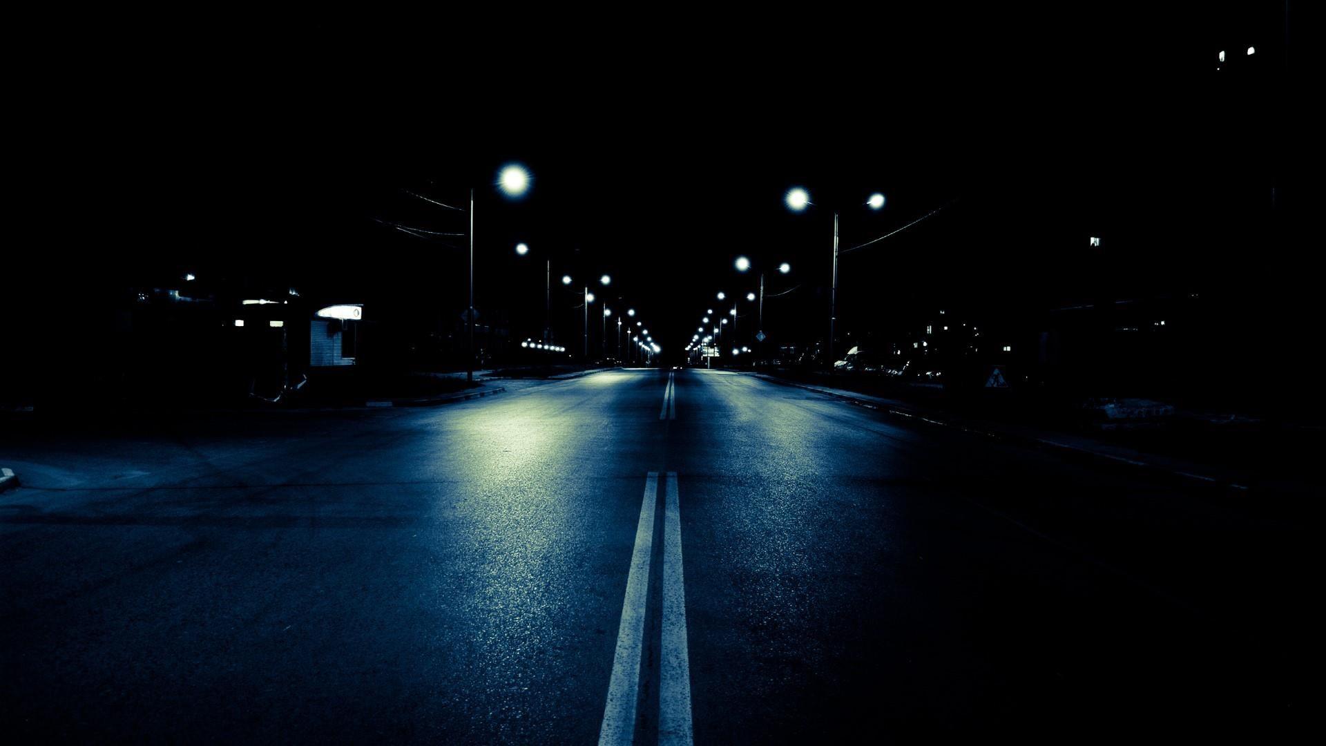 Wallpaper Hd City Night Street