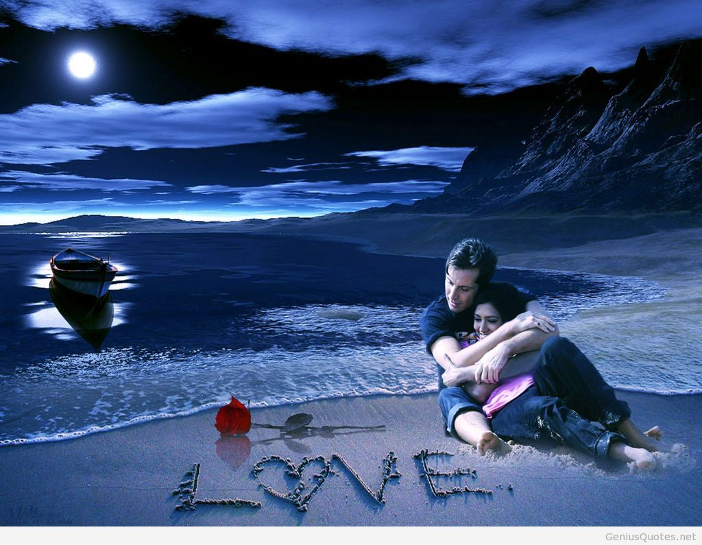 Download Love Romantic Wallpapers Group - Romantic Love Wallpapers Download , HD Wallpaper & Backgrounds