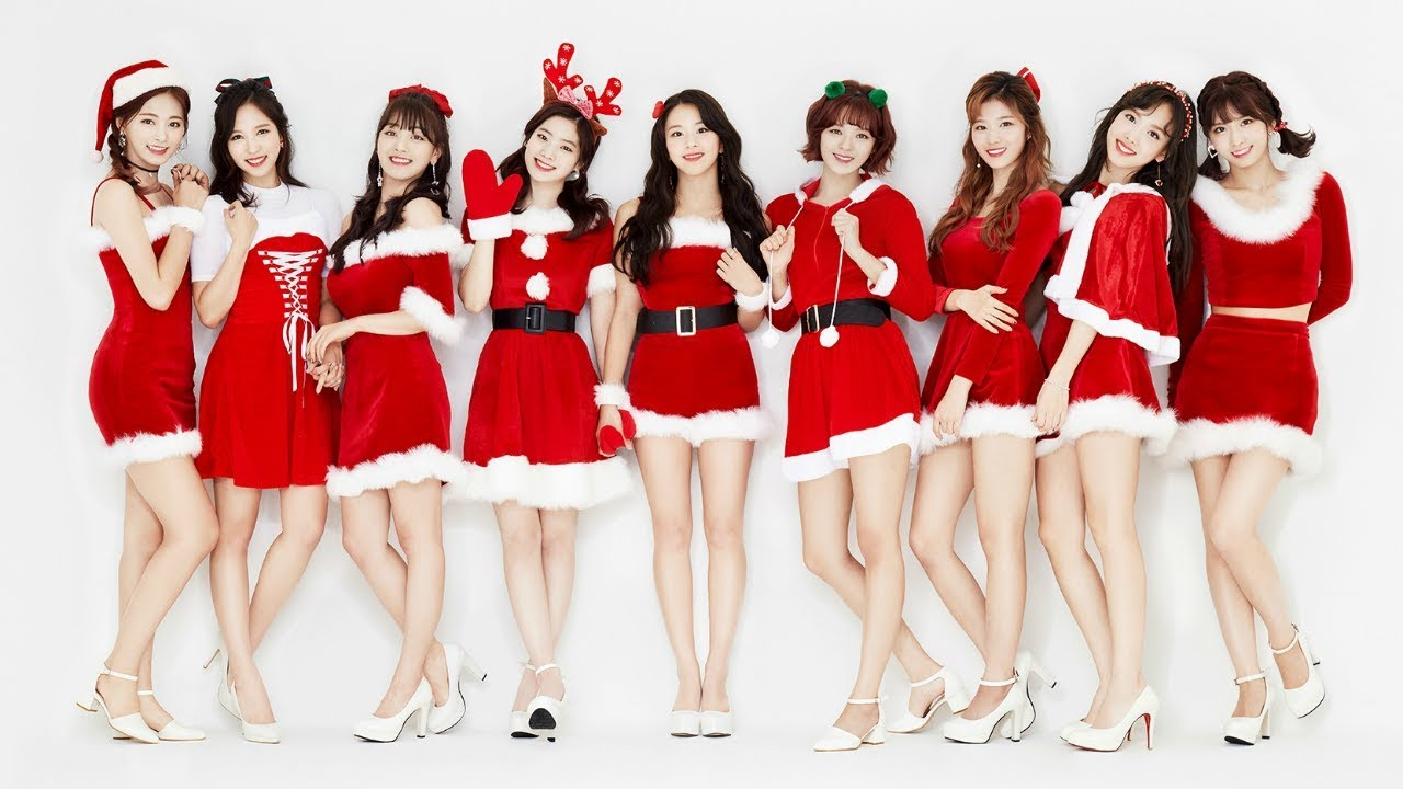 Twice Wallpaper - Twice Christmas , HD Wallpaper & Backgrounds