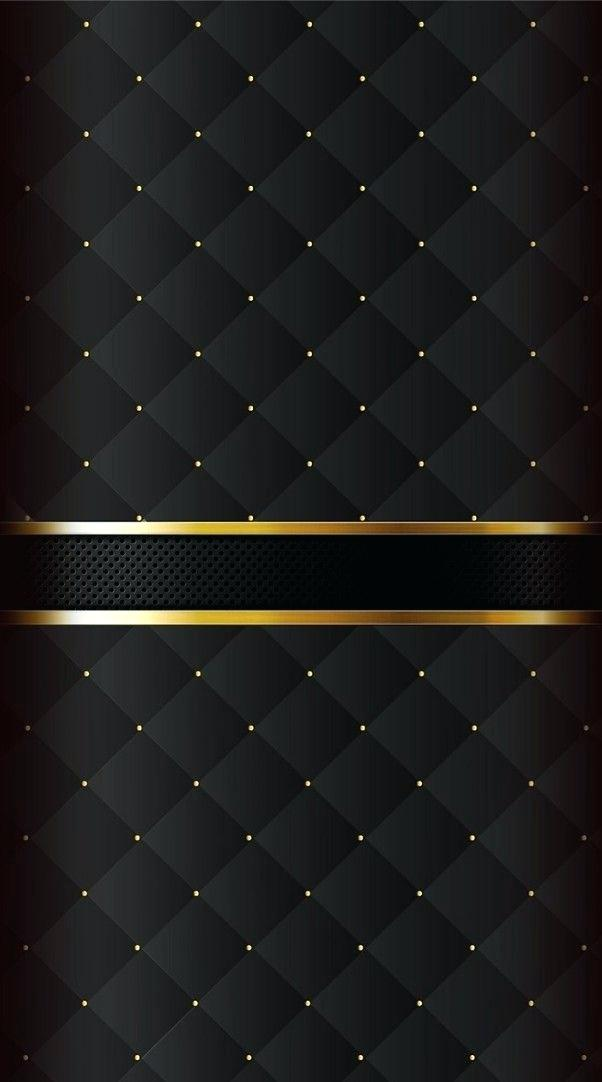 Black N Gold Wallpaper And Mobile Phone Iphone X Wallpaper