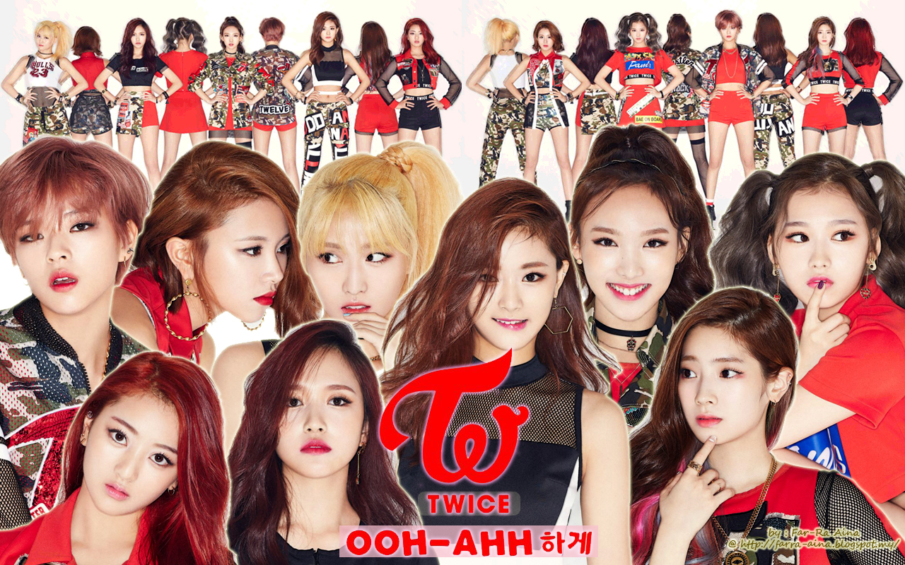 Twice Images Twice Wallpaper Hd Wallpaper And Background - Twice Ooh Ahh , HD Wallpaper & Backgrounds