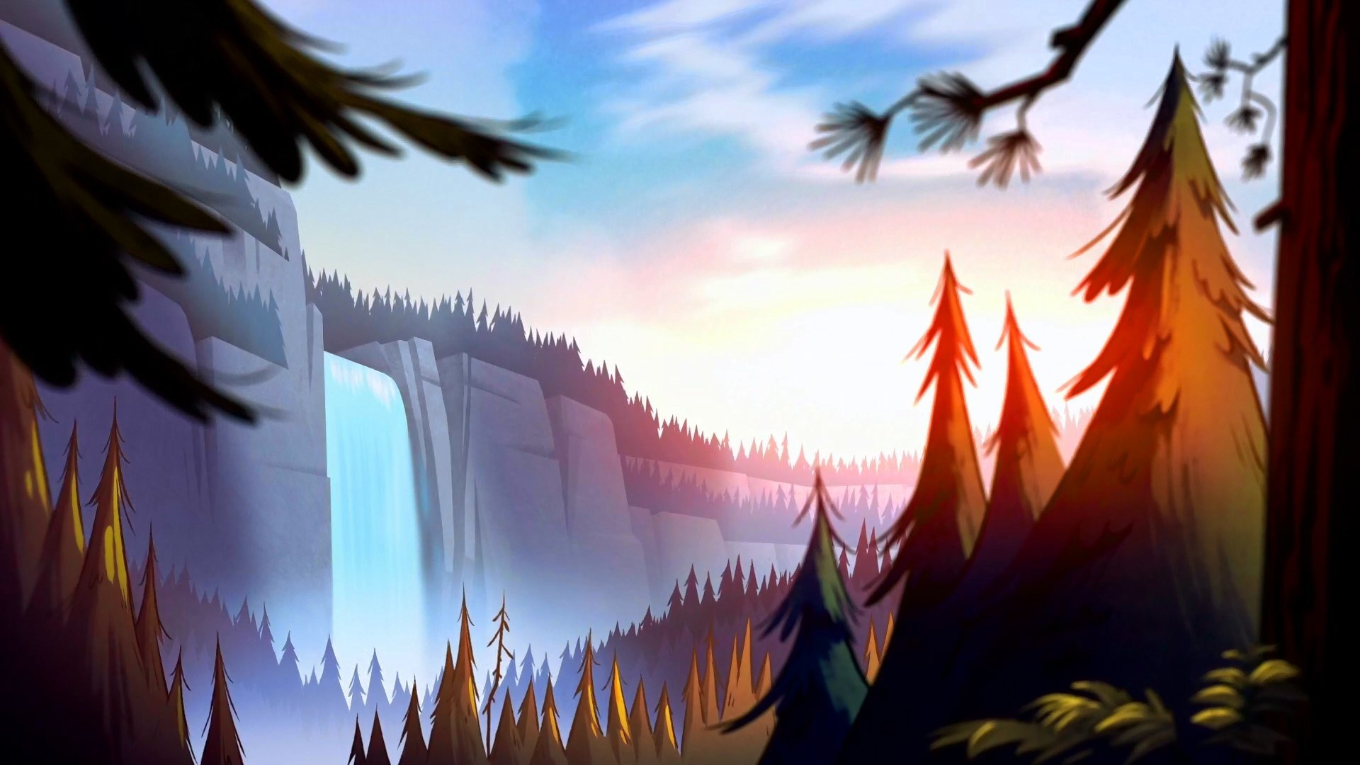 Gravity Falls Wallpaper Hd , HD Wallpaper & Backgrounds