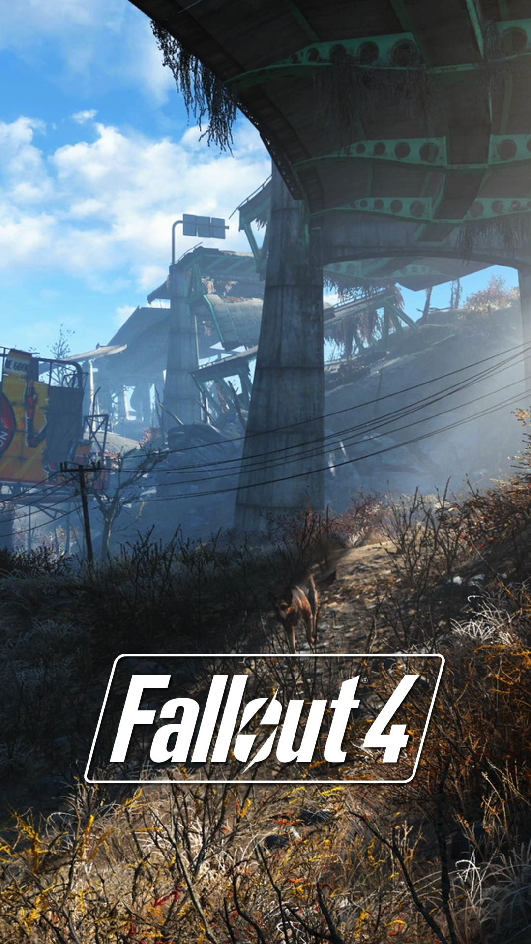 I Made Some Fallout 4 Lock Screen Wallpapers From E3 - Fallout 4k Iphone , HD Wallpaper & Backgrounds