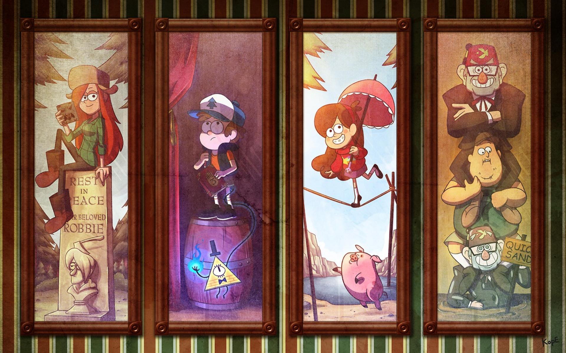 Gravity Falls Res - Disneyland Haunted Mansion Room Minecraft , HD Wallpaper & Backgrounds