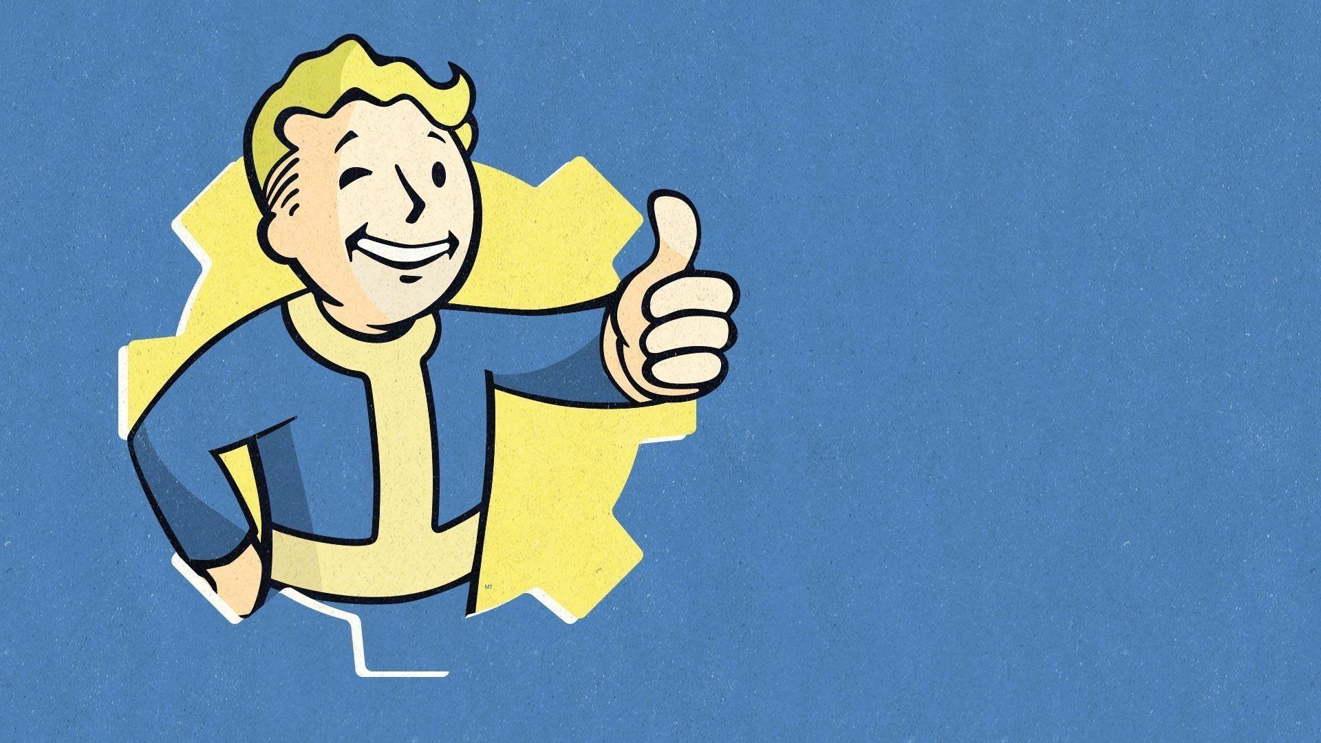 Fallout 4 Vault Boy Wallpaper Fallout 4 Vault Boy 53565 Hd