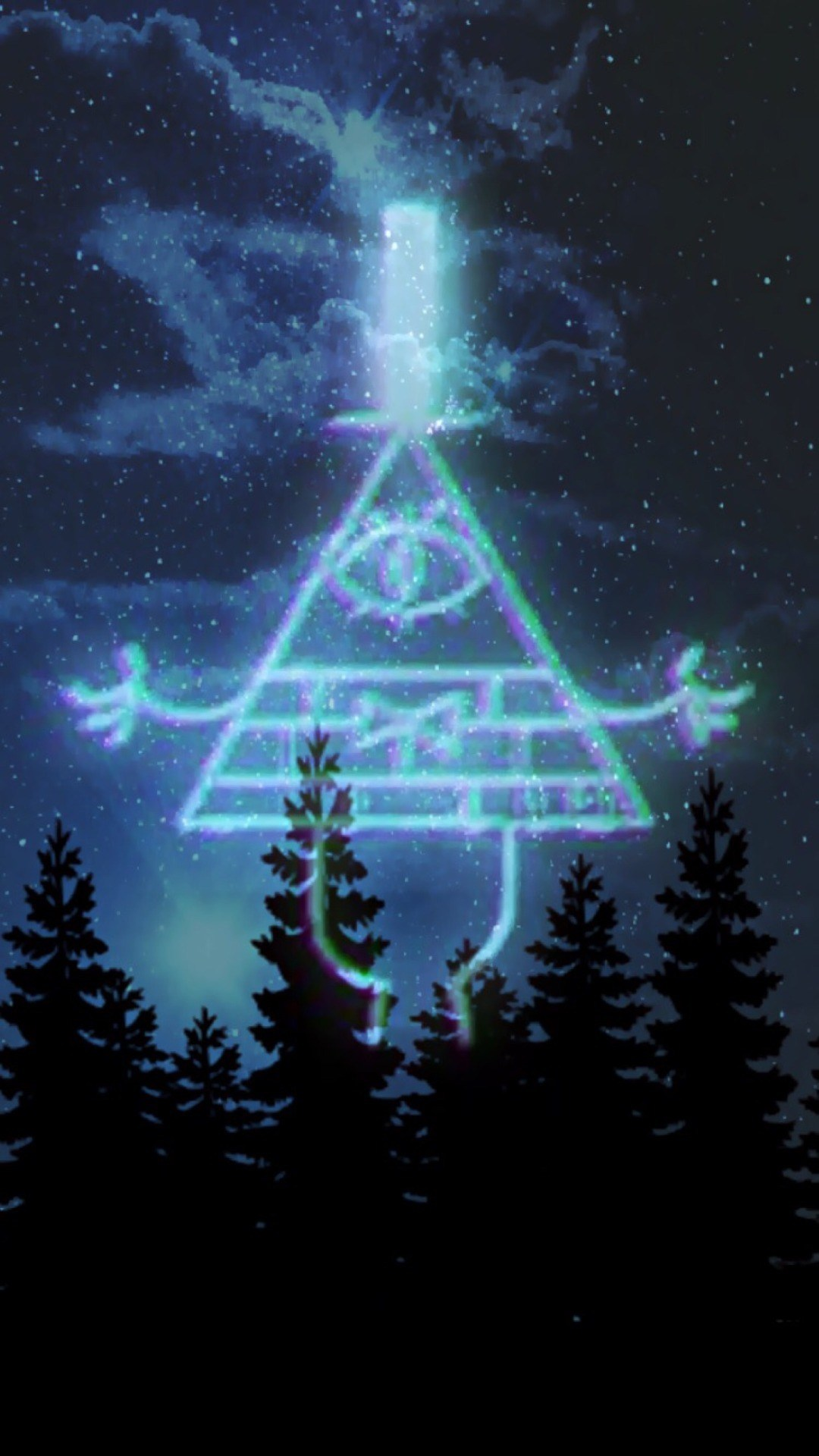 Gravity Falls Iphone Wallpaper 65 Images Bill Cipher