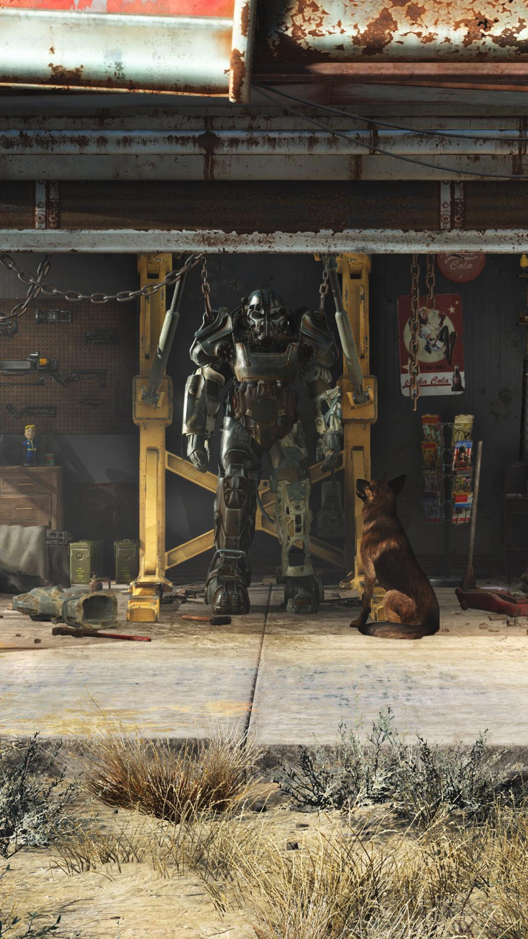 17 Best Fallout 4 Iphone And Mobile Wallpapers Images - Fallout 4 Wallpaper Smartphone , HD Wallpaper & Backgrounds