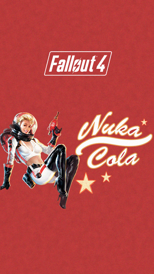 Fallout 4 Nuka Cola Phone Wallpaper Hd Made By Me - Action Figure , HD Wallpaper & Backgrounds