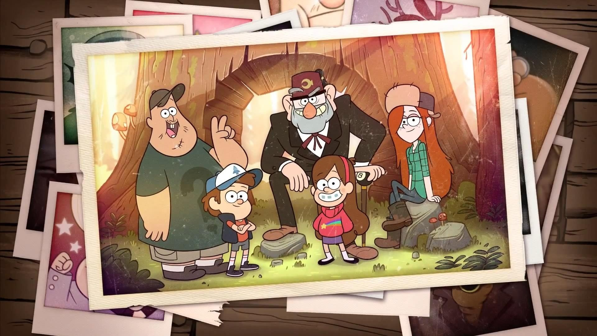 Gravity Falls Intro , HD Wallpaper & Backgrounds