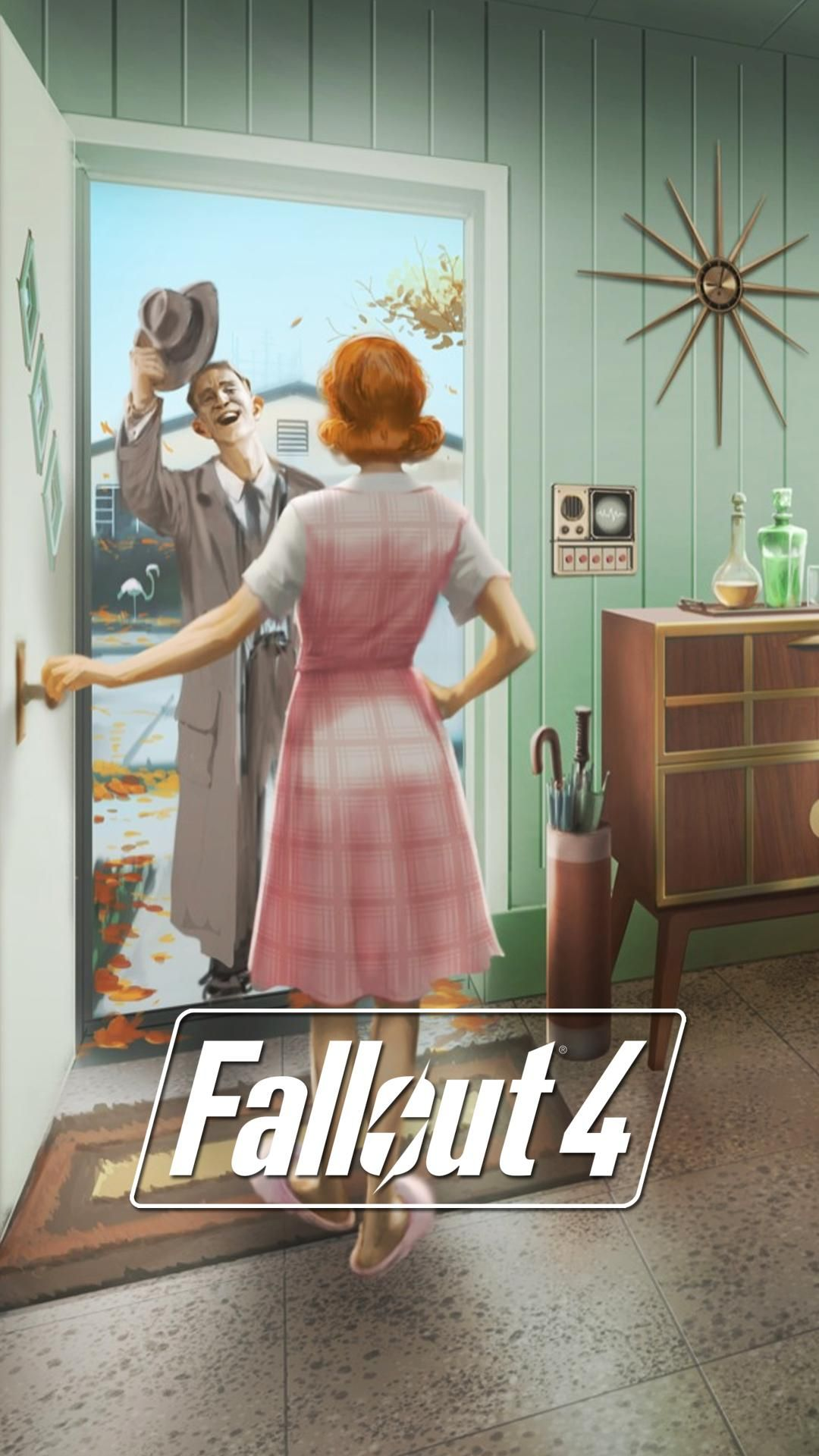 I Made Some Fallout 4 Lock Screen Wallpapers From E3 - Fallout 4 , HD Wallpaper & Backgrounds