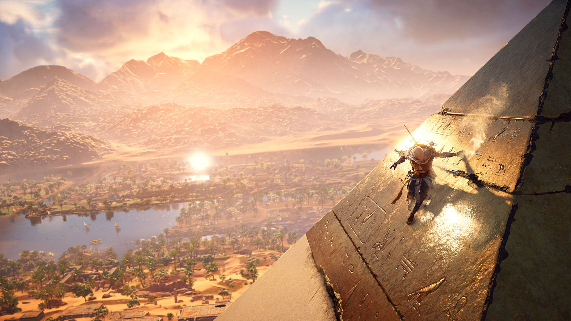Select The Image Above To View The Wallpaper Full Screen - Assassins Creed Origins Wallpaper 1080p , HD Wallpaper & Backgrounds