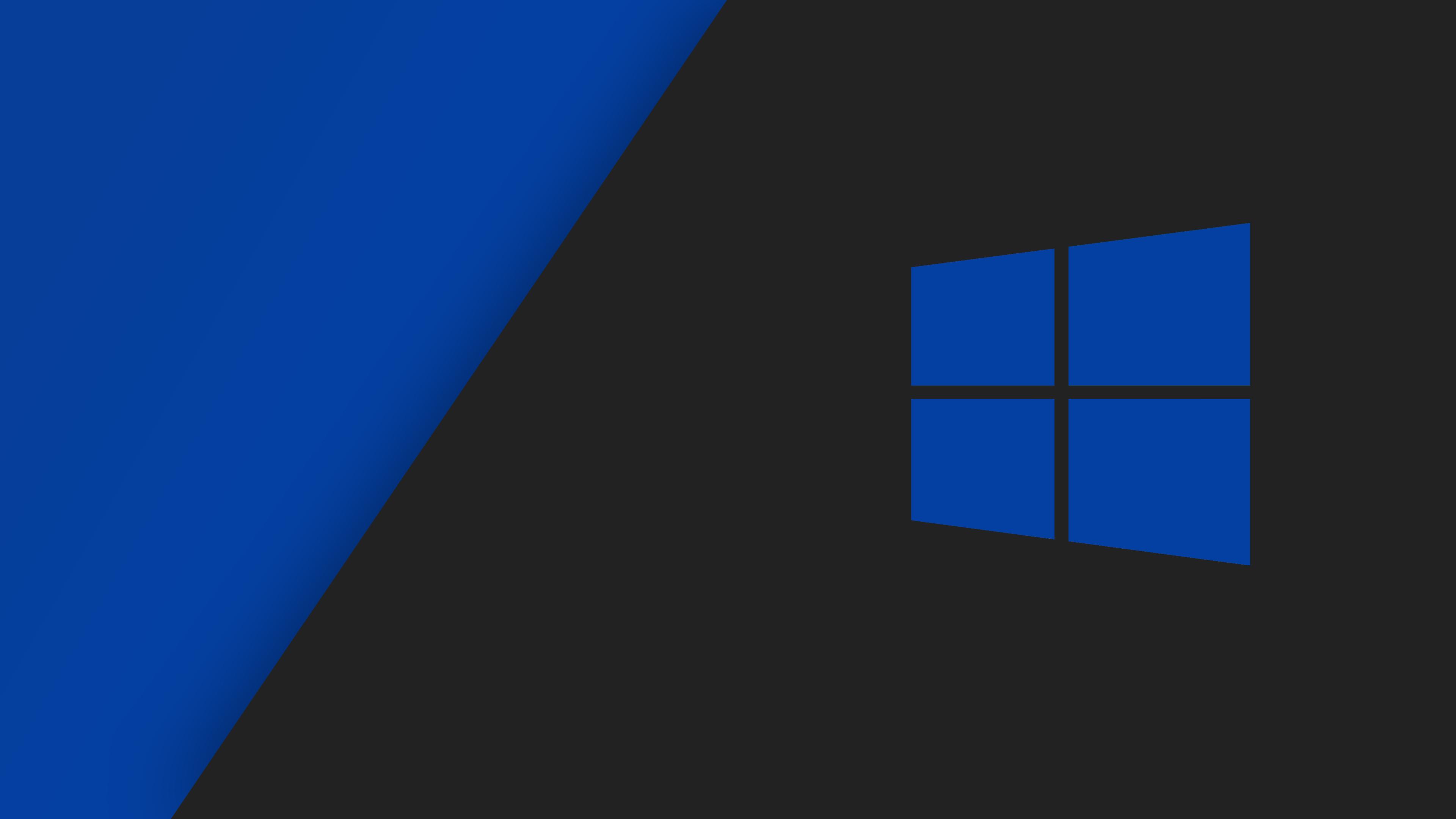 Windows 10 Dark Blue Wallpaper Hd , HD Wallpaper & Backgrounds