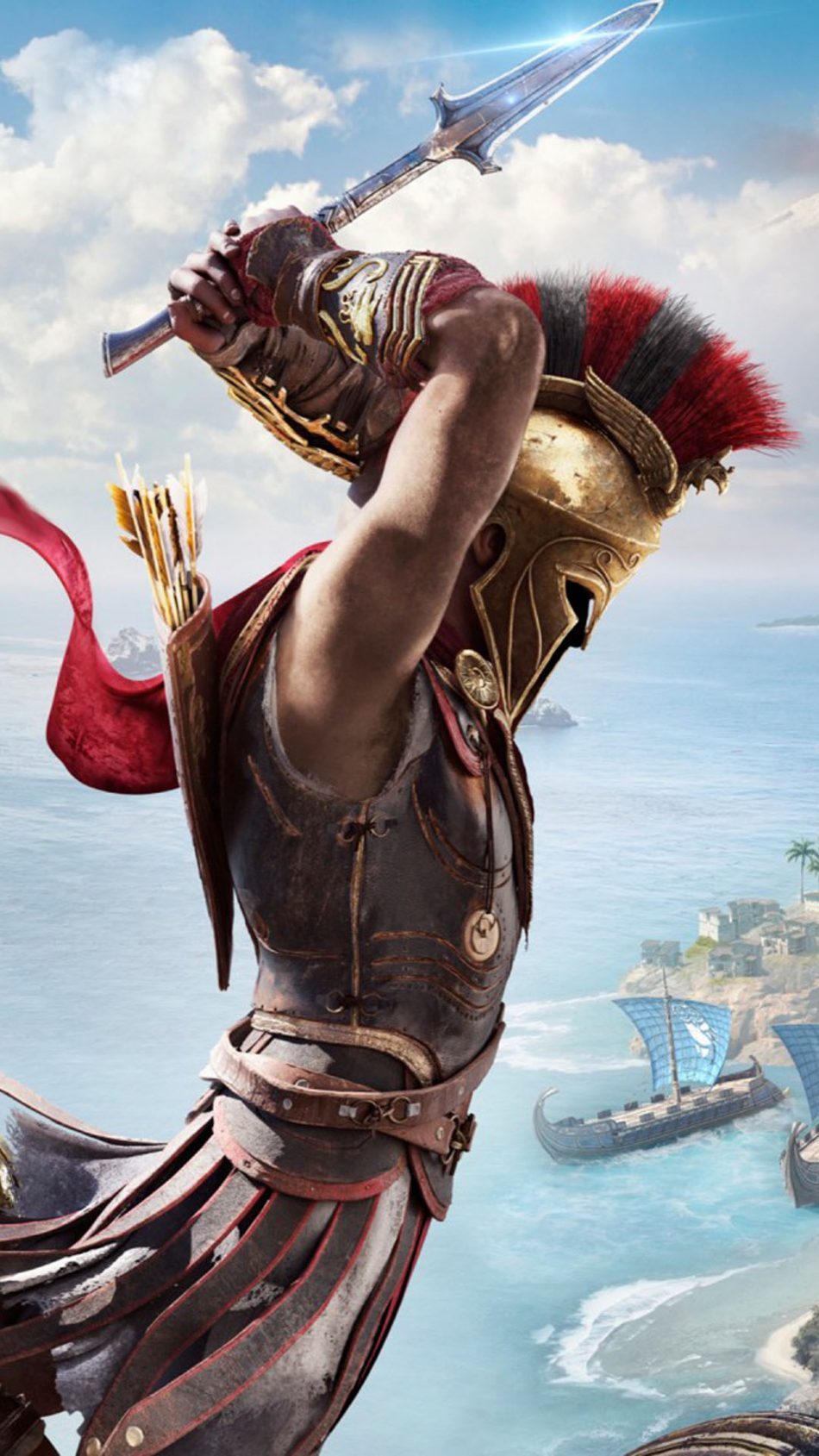 Assassin S Creed Odyssey Hd Mobile Wallpaper Assassin S Creed
