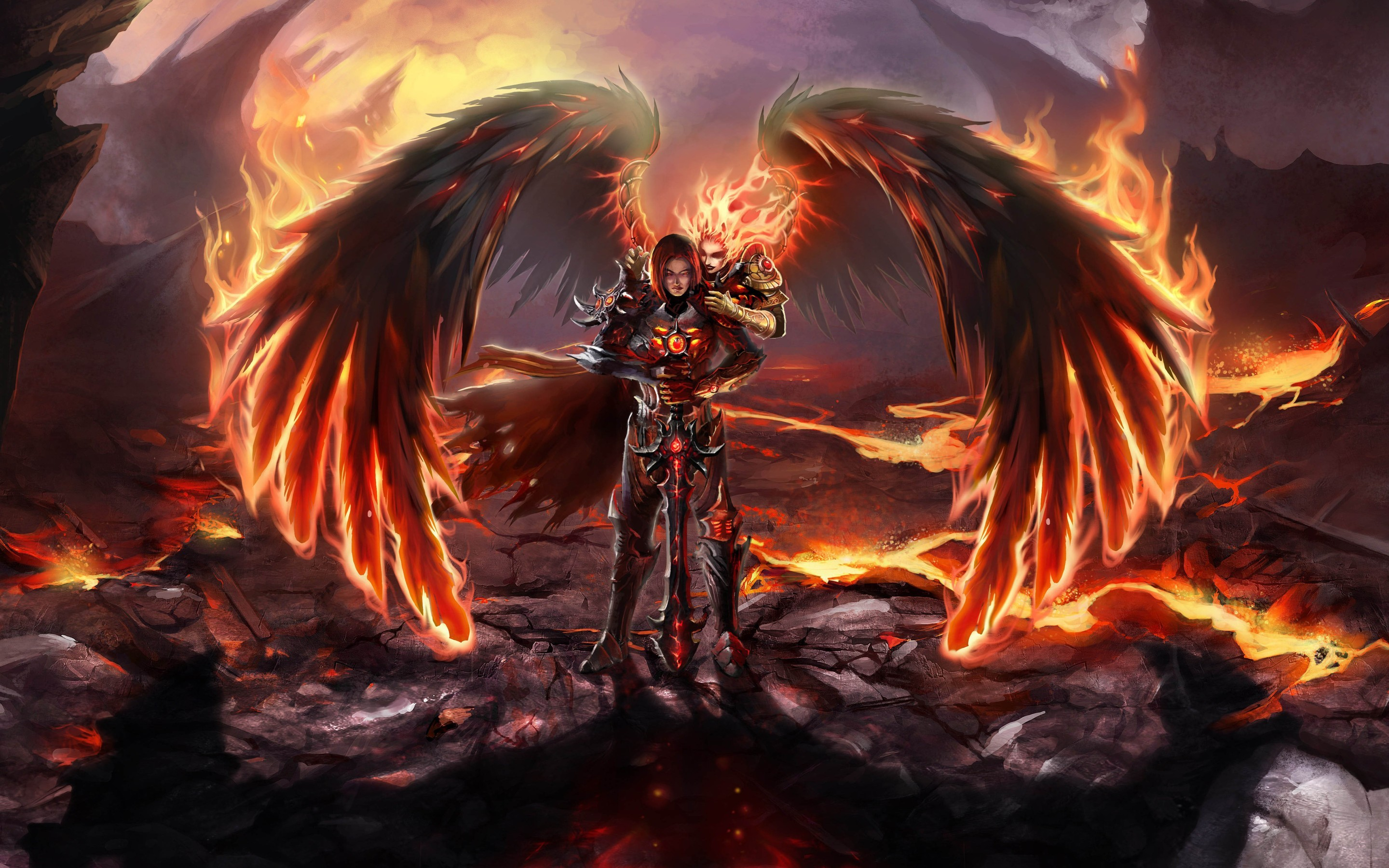 Badass Angel Anime Wallpapers With High Definition Dark Angel Hd