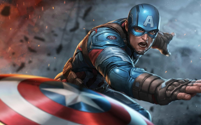 Captain America Wallpaper Hd Avengers Endgame Captain