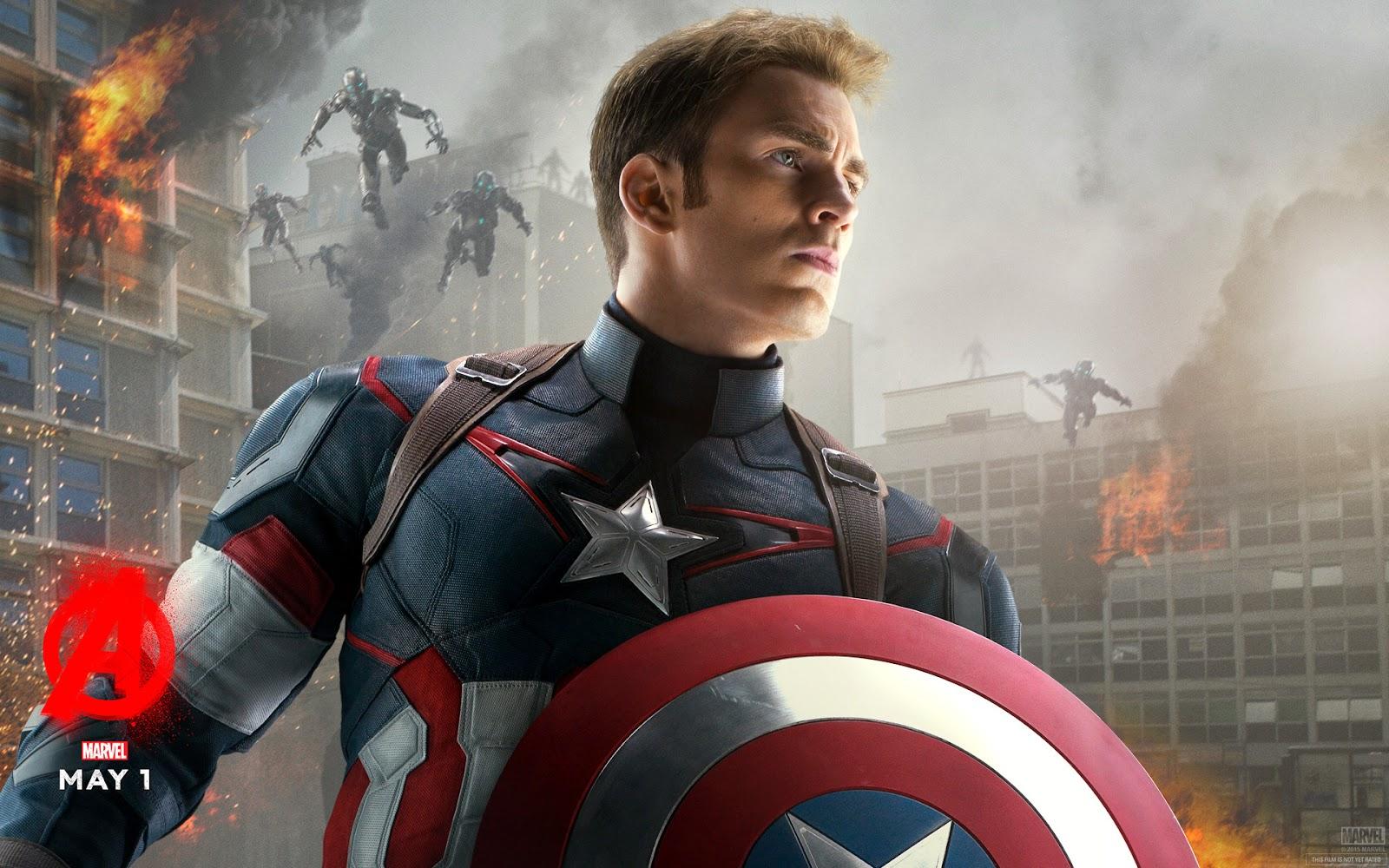 Captain America Avengers Age Of Ultron Chris Evans Captain