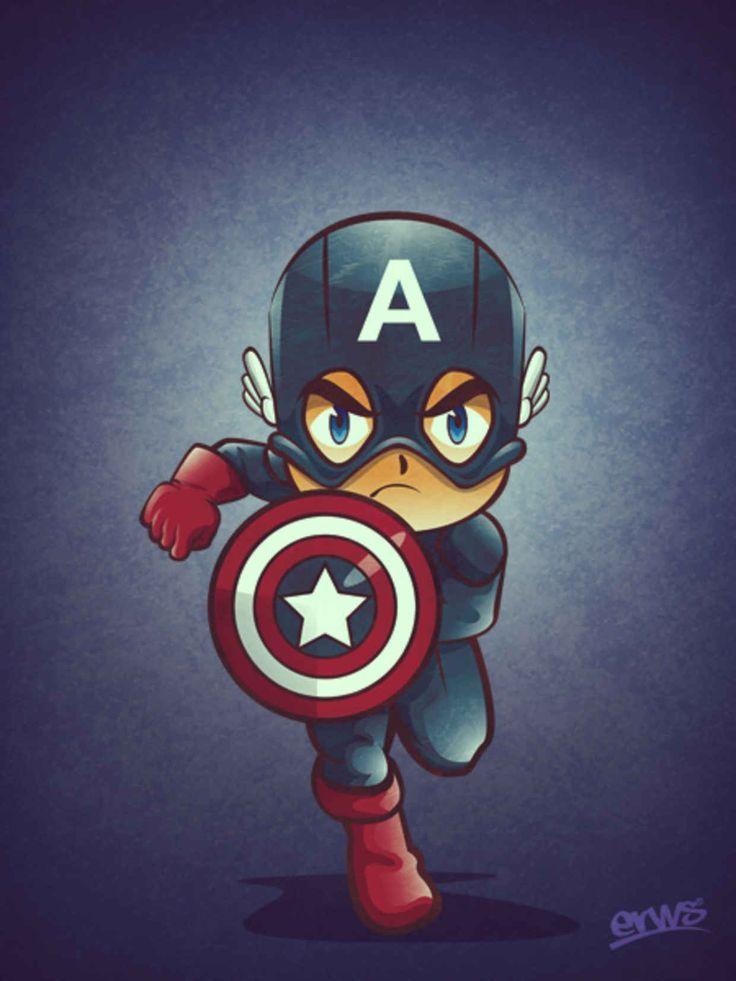Captain America Wallpaper Android Captain America Cartoon