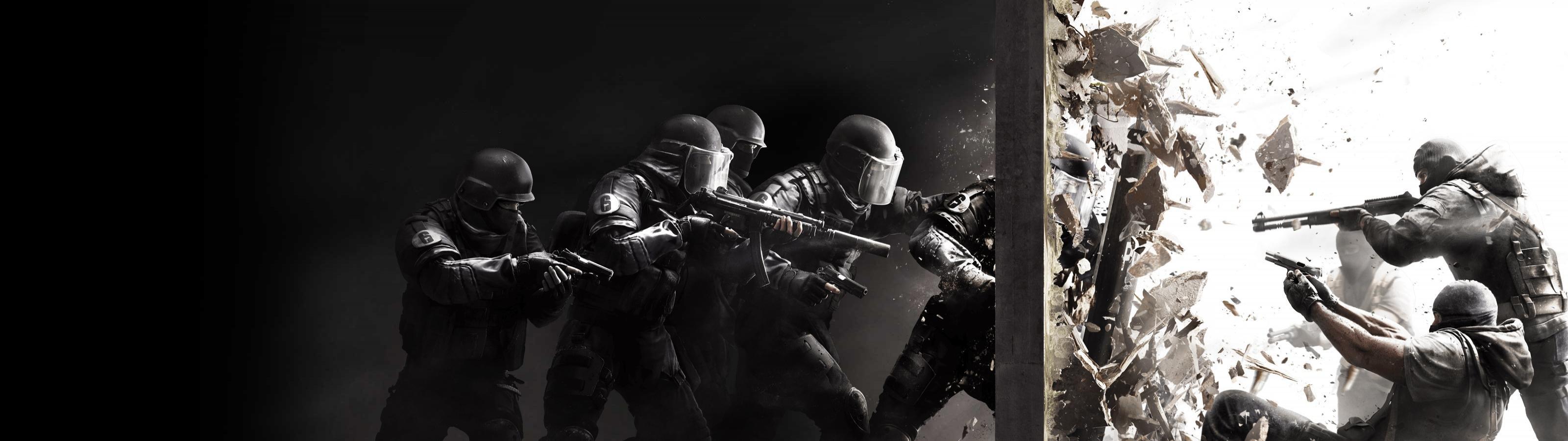 Download Dual Monitor Tom Clancy S Rainbow Six Rainbow 6 Siege