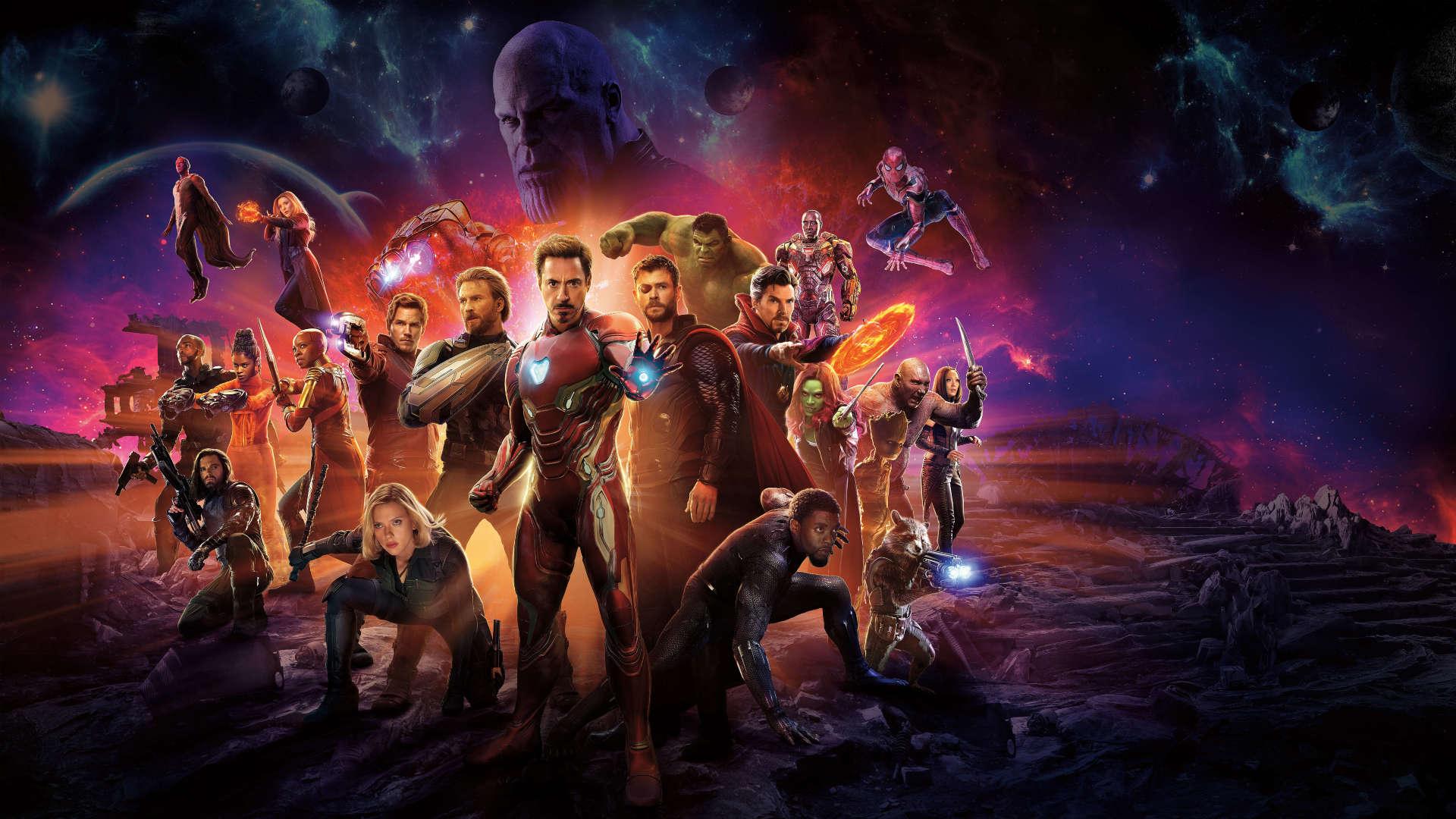 Avengers Infinity War International Poster Avengers