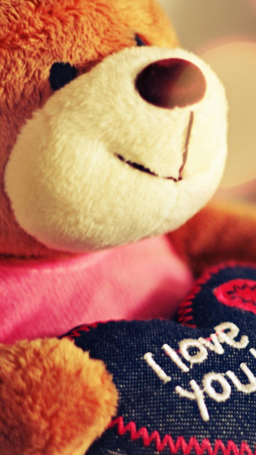 Love U Teddy Bear , HD Wallpaper & Backgrounds