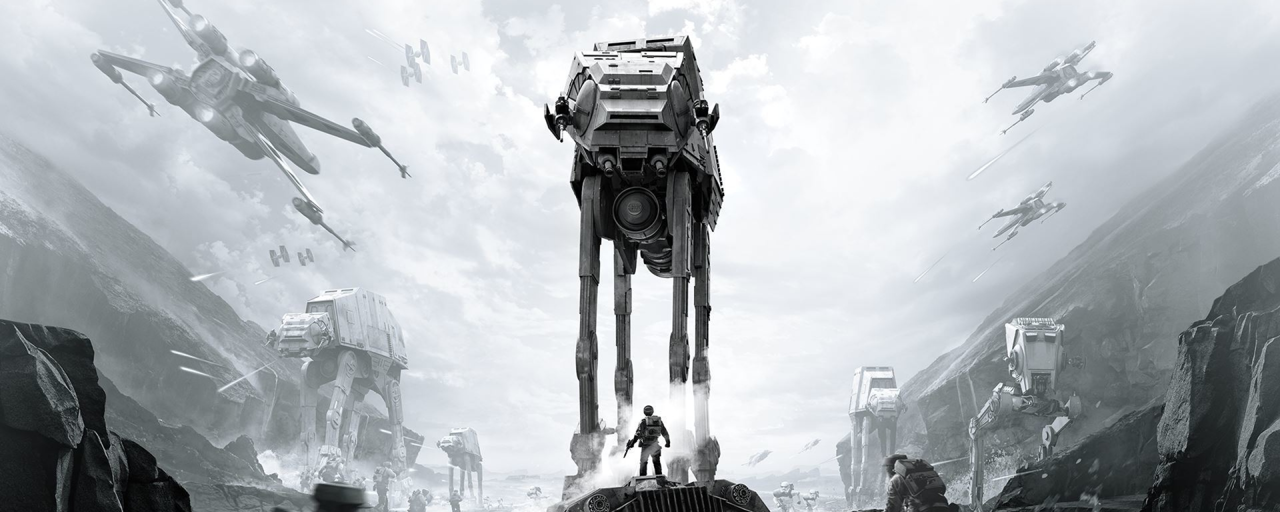 Star Wars Dual Monitor Wallpaper Hd Pics Tar Battlefront Star