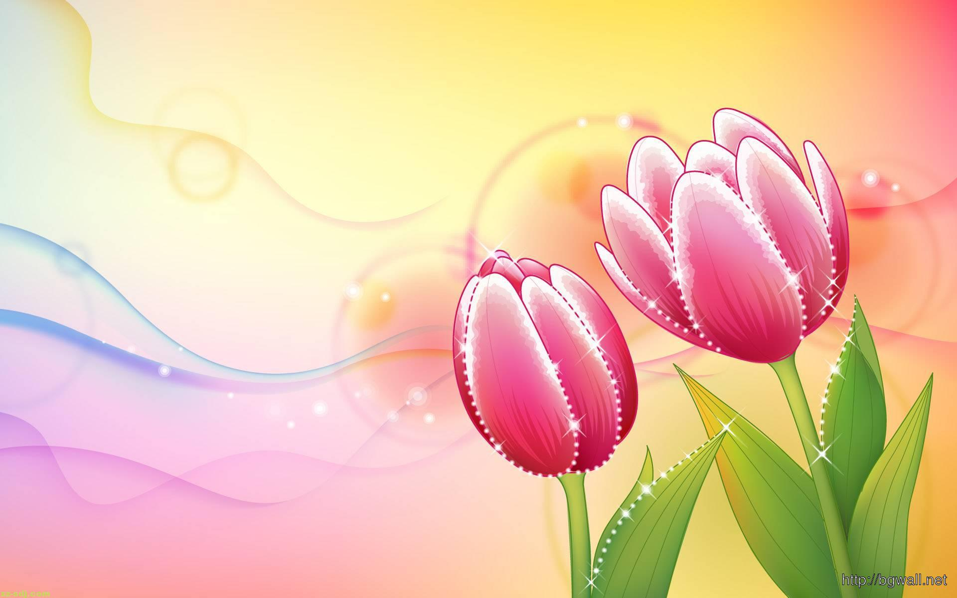 Flowers Art Painting Wallpaper Hd U2013 Background Design
