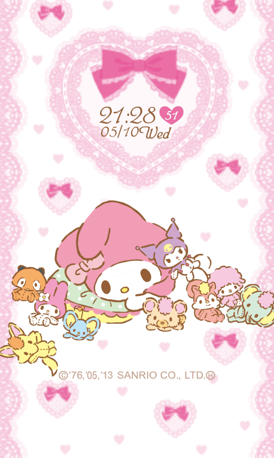 My Melody Live Wallpaper Iphone Lock Screen My Melody