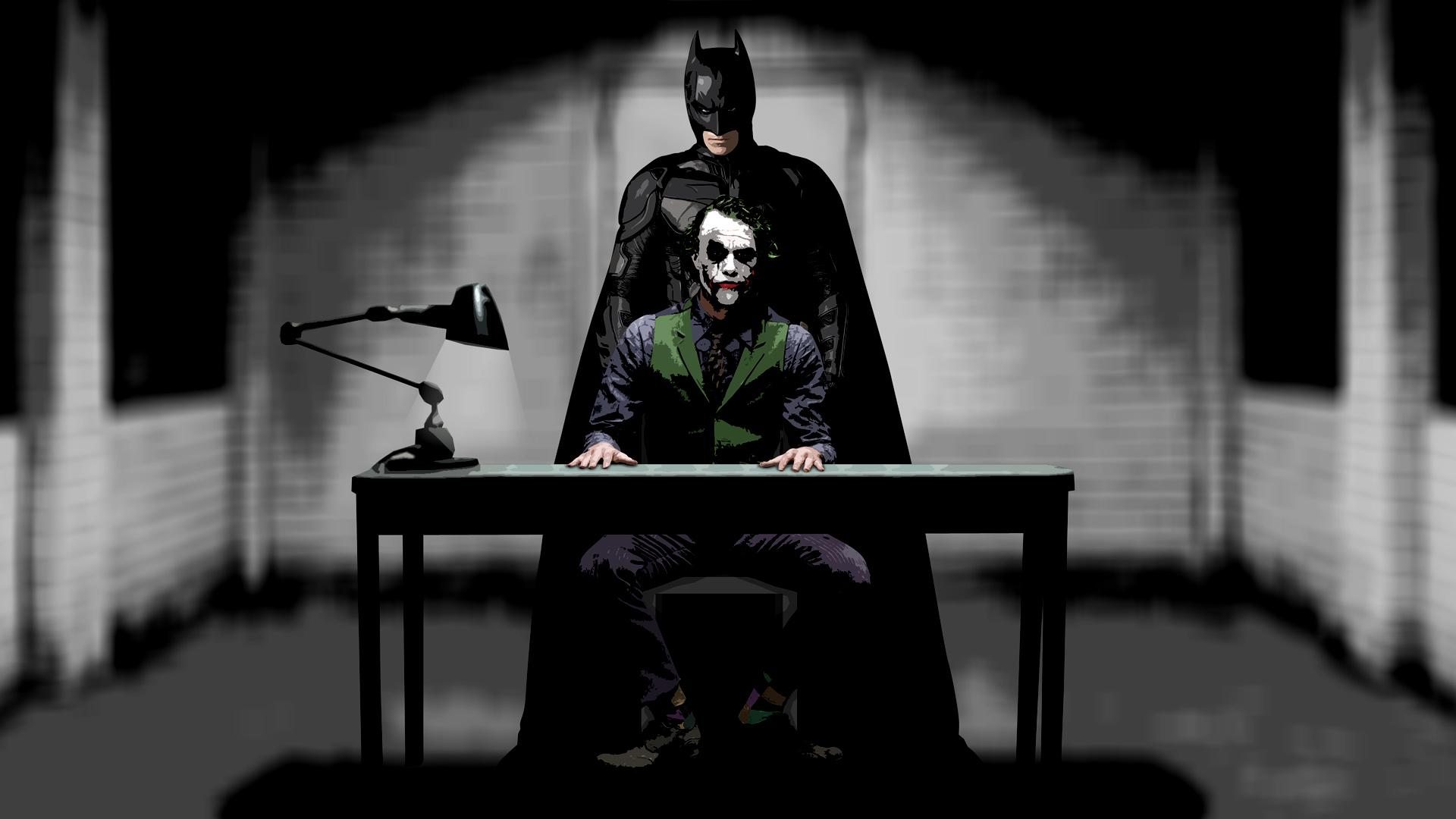 Batman Joker Hd Wallpapers 1080p Joker And Batman Wallpaper Hd